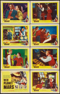 """Movie Posters:Science Fiction, Red Planet Mars (United Artists, 1952). Lobby Card Set of 8 (11"""" X14""""). Science Fiction.. ... (Total: 8 Items)"""