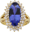 Estate Jewelry:Suites, Tanzanite, Diamond, Gold Ring-Dant . ...
