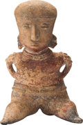 Antiques:Antiquities, Seated Chinesco Female Figure...