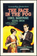 "Movie Posters:Mystery, The Face in the Fog (Paramount, 1922). One Sheet (27"" X 41"").Mystery.. ..."