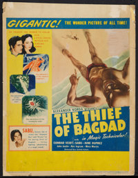 "The Thief of Bagdad (United Artists, 1940). Window Card (14"" X 22""). Fantasy"