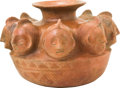 Antiques:Antiquities, A Colima Jar with Eight Heads...