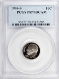 Proof Roosevelt Dimes: , 1994-S 10C Clad PR70 Deep Cameo PCGS. PCGS Population (165). NGCCensus: (0). Numismedia Wsl. Price for problem free NGC/P...