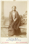 American Indian Art:Photographs, CROW FOOT (SON OF SITTING BULL). c. 1885...