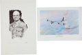 Military & Patriotic:WWII, Two WWII Aviation Related Prints: Jimmy Doolittle Limited Edition Print and Enola Gay Print Signed by Paul Tibbets.... (Total: 2 Items)
