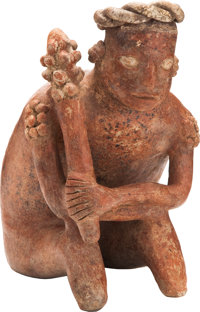 Nayarit Seated Ruler with Club