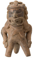 Antiques:Antiquities, Figure Masked as the Wind Deity...