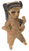 Antiques:Antiquities, Mother and Child Whistle...