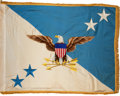 Military & Patriotic:WWII, Early Chairman of the Joint Chiefs of Staff Flag....
