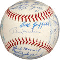 Autographs:Baseballs, 1969 Minnesota Twins Team Signed Baseball....