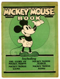 Platinum Age (1897-1937):Miscellaneous, Mickey Mouse Book Later printing (Bibo & Lang, 1931) Condition:VG/FN....