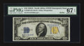 Small Size:World War II Emergency Notes, Fr. 2309 $10 1934A North Africa Silver Certificate. PMG Superb GemUnc 67 EPQ.. ...