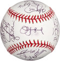 Autographs:Baseballs, 2006 Detroit Tigers Team Signed Baseball....