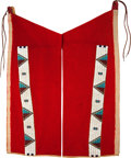 American Indian Art:Beadwork and Quillwork, A PAIR OF SIOUX BEADED CLOTH LEGGINGS. c. 1890... (Total: 2 Items)