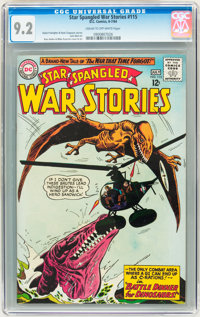Star Spangled War Stories #115 (DC, 1964) CGC NM- 9.2 Cream to off-white pages
