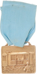 Military & Patriotic:WWI, Presentation 10K Forty & Eight Society Medal....