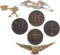 Military & Patriotic:WWI, WWI Aviation Insignia Group.... (Total: 7 Items)