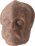 Antiques:Antiquities, Hacha in Human Head Form...