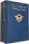 Military & Patriotic:WWI, James Norman Hall & Charles Bernard Nordhoff, editors. TheLafayette Flying Corps.... (Total: 2 Items)