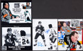 Hockey Collectibles:Photos, Paul Stewart Signed Photographs Lot of 4....