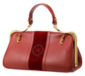 Luxury Accessories:Bags, Two Signature Roberta di Camerino Leather and Velvet Bags. ... (Total: 2 Items)