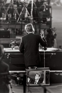 GARRY WINOGRAND (American, 1928-1984) JFK, Democratic National Convention, Los Angeles, 1960 Gelatin