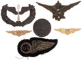 Military & Patriotic:WWI, Group of Aviation Related Insignia.... (Total: 6 Items)