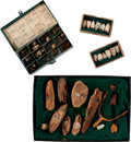 Military & Patriotic:Civil War, Nice Group of Civil War Battlefield Recovered Artifacts.... (Total: 4 Items)