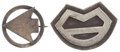 Military & Patriotic:WWI, Two WWI Air Service Squadron Pins.... (Total: 2 Items)