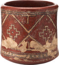 Antiques:Antiquities, Chupicuaro Cylinder Vessel...