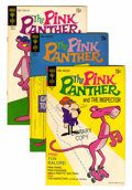 Bronze Age (1970-1979):Cartoon Character, Pink Panther File Copy Group (Gold Key, 1972-80) Condition: AverageFN.... (Total: 63 Comic Books)