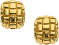 Estate Jewelry:Earrings, Gold Earrings, David Webb. ...