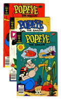 Bronze Age (1970-1979):Cartoon Character, Popeye #139-155 and 171 File Copies Group (Gold Key, 1978-84)Condition: Average FN.... (Total: 18 Comic Books)