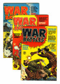 Golden Age (1938-1955):War, War Battles #1-9 File Copies Group (Harvey, 1952-53) Condition:Average VF-.... (Total: 9 Comic Books)