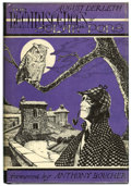 Books:Hardcover, August Derleth The Reminiscences of Solar Pons (Arkham House, 1961)....