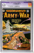 Golden Age (1938-1955):War, Our Army at War #6 (DC, 1953) CGC Apparent FN- 5.5 Slight (A) Creamto off-white pages....
