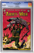 Golden Age (1938-1955):War, Our Army at War #8 (DC, 1953) CGC FN 6.0 Off-white pages....