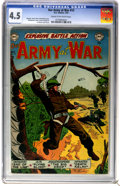 Golden Age (1938-1955):War, Our Army at War #12 (DC, 1953) CGC VG+ 4.5 Cream to off-whitepages....