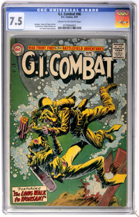 G.I. Combat #46 (DC, 1957) CGC VF- 7.5 Cream to off-white pages