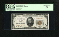 Fr. 1870-F $20 1929 Federal Reserve Bank Note. PCGS Choice About New 58