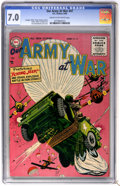 Golden Age (1938-1955):War, Our Army at War #47 (DC, 1956) CGC FN/VF 7.0 Cream to off-whitepages....