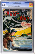 Golden Age (1938-1955):War, Our Army at War #38 (DC, 1955) CGC FN 6.0 Off-white pages....