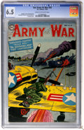 Golden Age (1938-1955):War, Our Army at War #29 (DC, 1954) CGC FN+ 6.5 Cream to off-white pages....