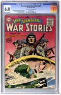 Golden Age (1938-1955):War, Star Spangled War Stories #38 (DC, 1955) CGC FN 6.0 Cream tooff-white pages....