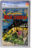 Golden Age (1938-1955):War, Star Spangled War Stories #49 River City pedigree (DC, 1956) CGCFN/VF 7.0 Off-white pages....