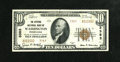 National Bank Notes: , Washington, PA - $10 1929 Ty. 2 The Citizens NB Ch. # 3383. ...