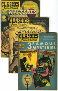 Golden Age (1938-1955):Classics Illustrated, Classics Illustrated #21, 33, and 40 Group (Gilberton, 1944-47) Condition: Average VG.... (Total: 3 Comic Books)