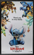 "Movie Posters:Animated, Lilo & Stitch (Buena Vista, 2002). Lenticular One Sheet (27"" X40"") Advance. Animated. ..."