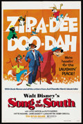 "Movie Posters:Animated, Song of the South (Buena Vista, R-1973). One Sheet (27"" X 41""). Animated. ..."