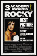 """Movie Posters:Sports, Rocky (United Artists, 1977). International Academy Awards One Sheet (27"""" X 41""""). Sports. Starring Sylvester Stallone, Talia..."""